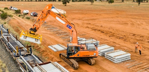 Over 63km of Track Removed in 1st phase of Inland Rail Project