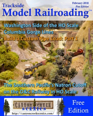Trackside Model Railroading - February issue