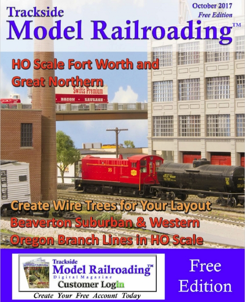 Trackside Model Railroading - October issue