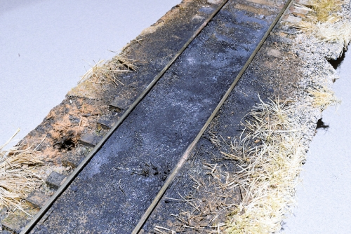 Modelling Oil Soaked Track