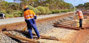 Steel Sleeper System Trialled on Goldfields Freight Line