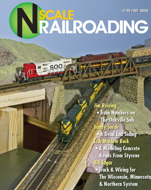 N Scale Railroading Magazine issue 122