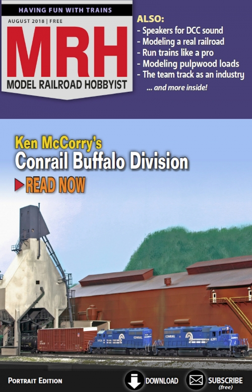 August 2018 Model Railroad Hobbyist