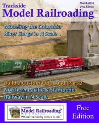 Trackside Model Railroading - March issue