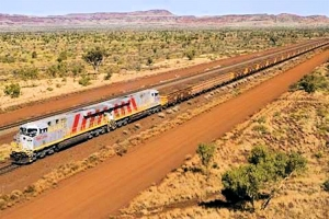 20 percent of Rio Tinto's Trains