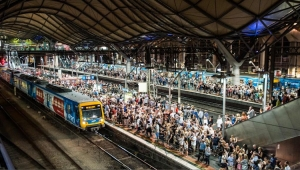 Problem with New Delhi trains, I mean Melbourne Trains, the Other Day
