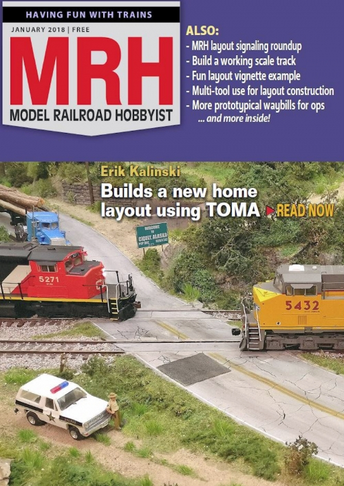 January 2018 Model Railroad Hobbyist