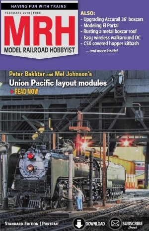February 2018 Model Railroad Hobbyist