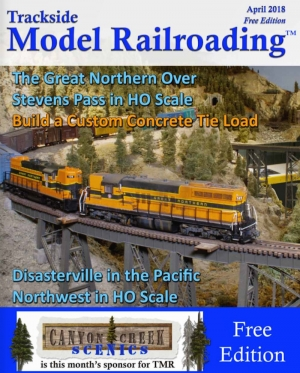 Trackside Model Railroading - April issue