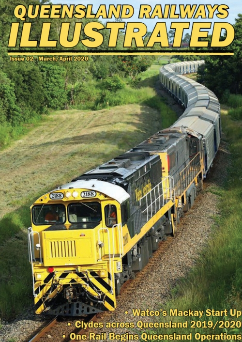 Queensland Railways Illustrated - New Issue Out Now