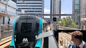 Sydney's driverless Metro completes first full run.
