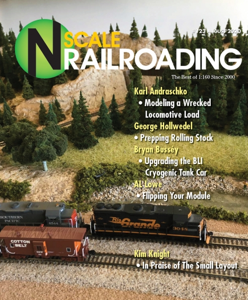 N Scale Railroading Magazine issue 123