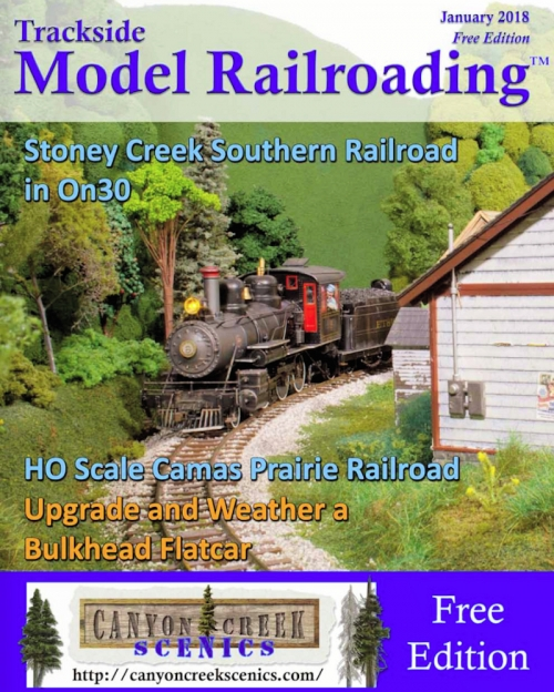 Trackside Model Railroading - January issue