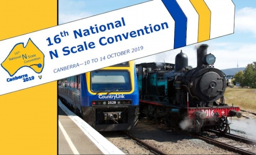 N Scale Convention 2019 Newsletter #1